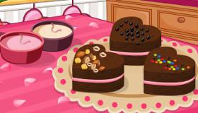 Brownies choco framboises jeu de fruits jeux 2 cuisine - Jeux de cuisine de sara gateau au chocolat ...