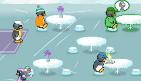 restaurant de pingouin jeu de restaurant jeux 2 cuisine. Black Bedroom Furniture Sets. Home Design Ideas