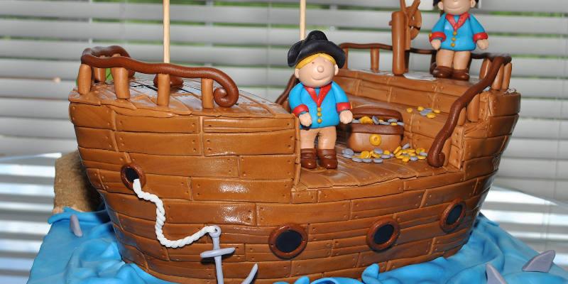 Recette un bateau pirate d guster facile jeux 2 cuisine - Jeux de cuisine de gateaux d anniversaire ...