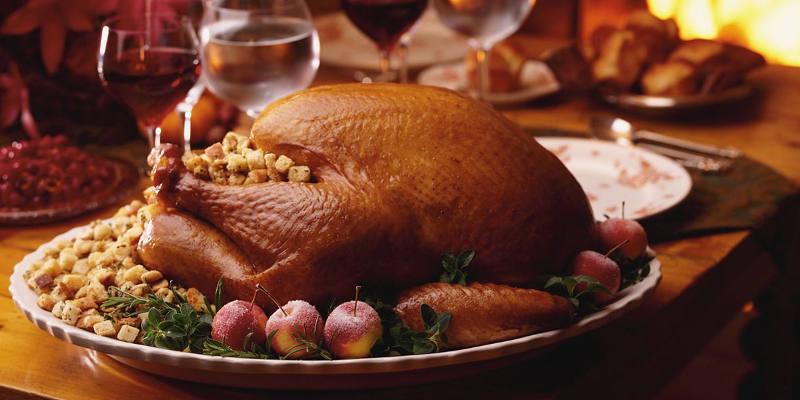 Recette dinde de thanksgiving farcie aux marrons facile jeux 2 cuisine - Farce pour dinde noel ...